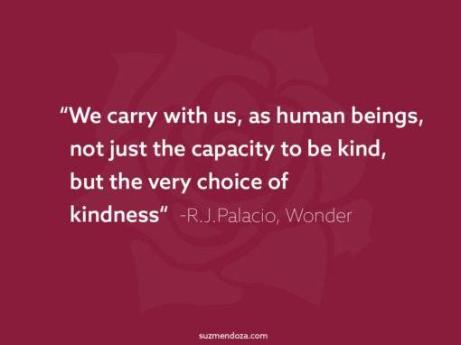 Choice of Kindness